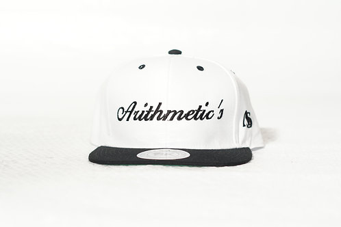 Arithmetic's Snapback Hat (White)