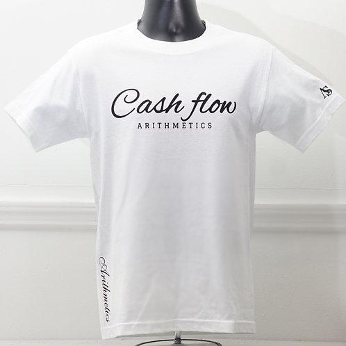 CASH FLOW Tee (WHITE)