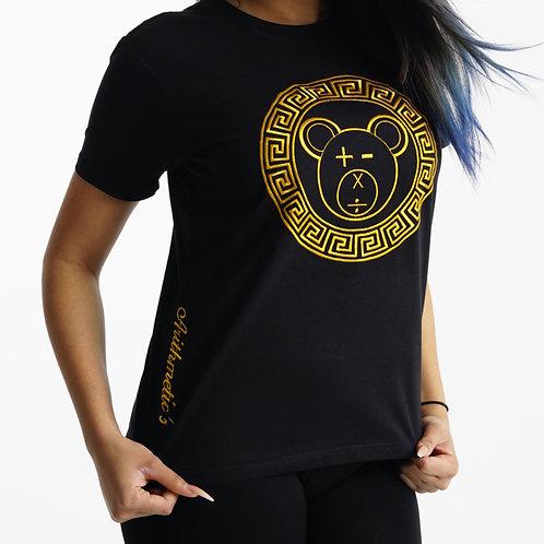 A Bear Tee (Gold on Black)