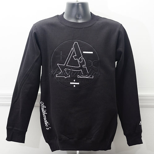 ARITHMETICS CREW NECK (BLACK)