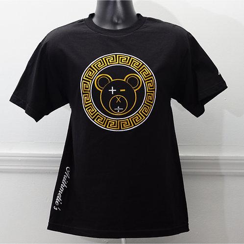 A Bear Tee (Black / Gold on Black)