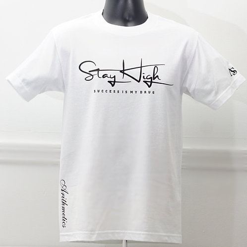 STAY HIGH Tee (WHITE)