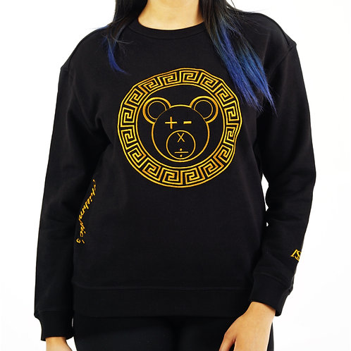 A Bear Premium Crew (Gold on Black)