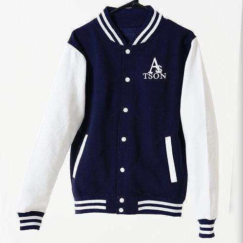 *JV Jacket Oxford Navy/White