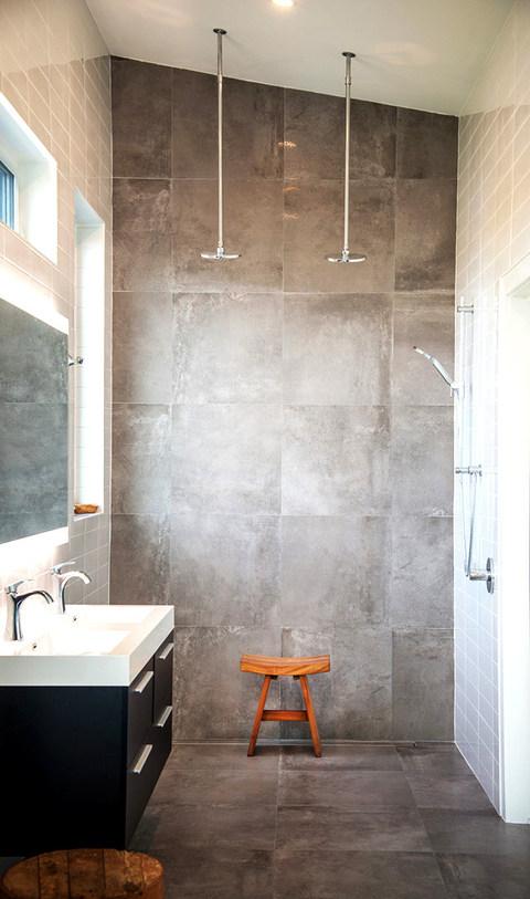 Panelled Slate Shower