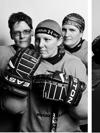 Women's Hockey Character Portraits