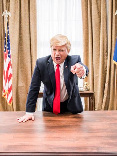 Trump Impersonator, John Di Domenico