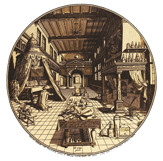 The Spiritual Alchemy of Lucid Surrender, 'Awake in Sleep!: The Alchemist's Study'