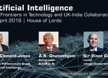 Artificial Intelligence - New Frontiers in UK India Technology Collaboration