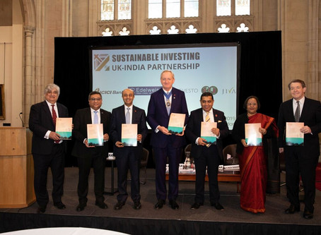 Partnering for Sustainable Investing