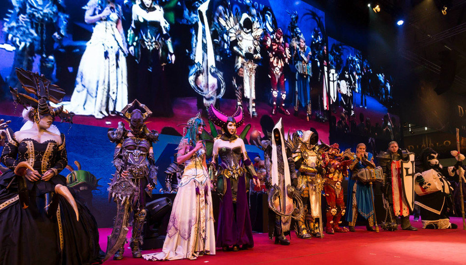 Gamescom Blizzard Costume Contest