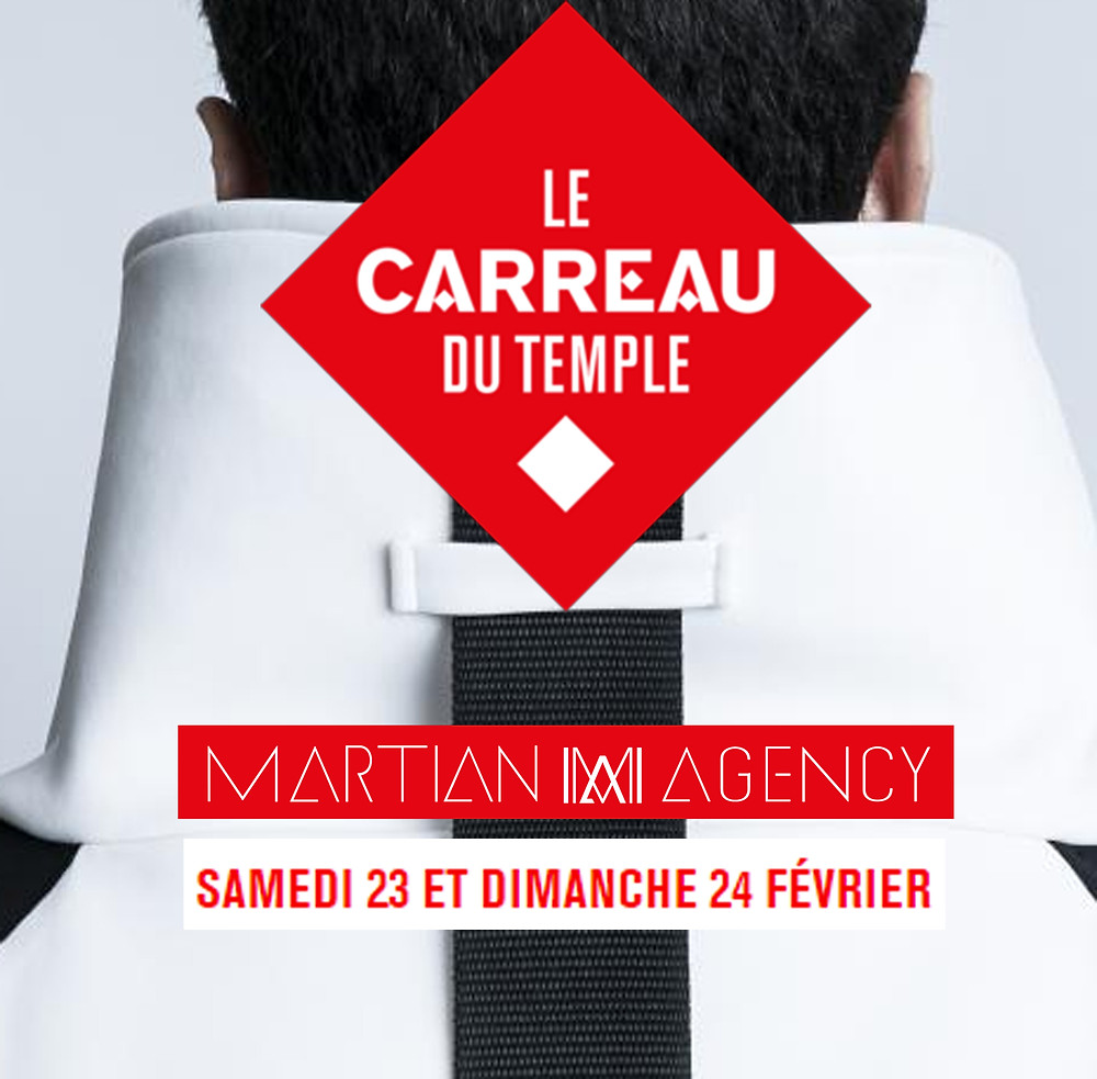 Le Carreau Du Temple x Martian Agency