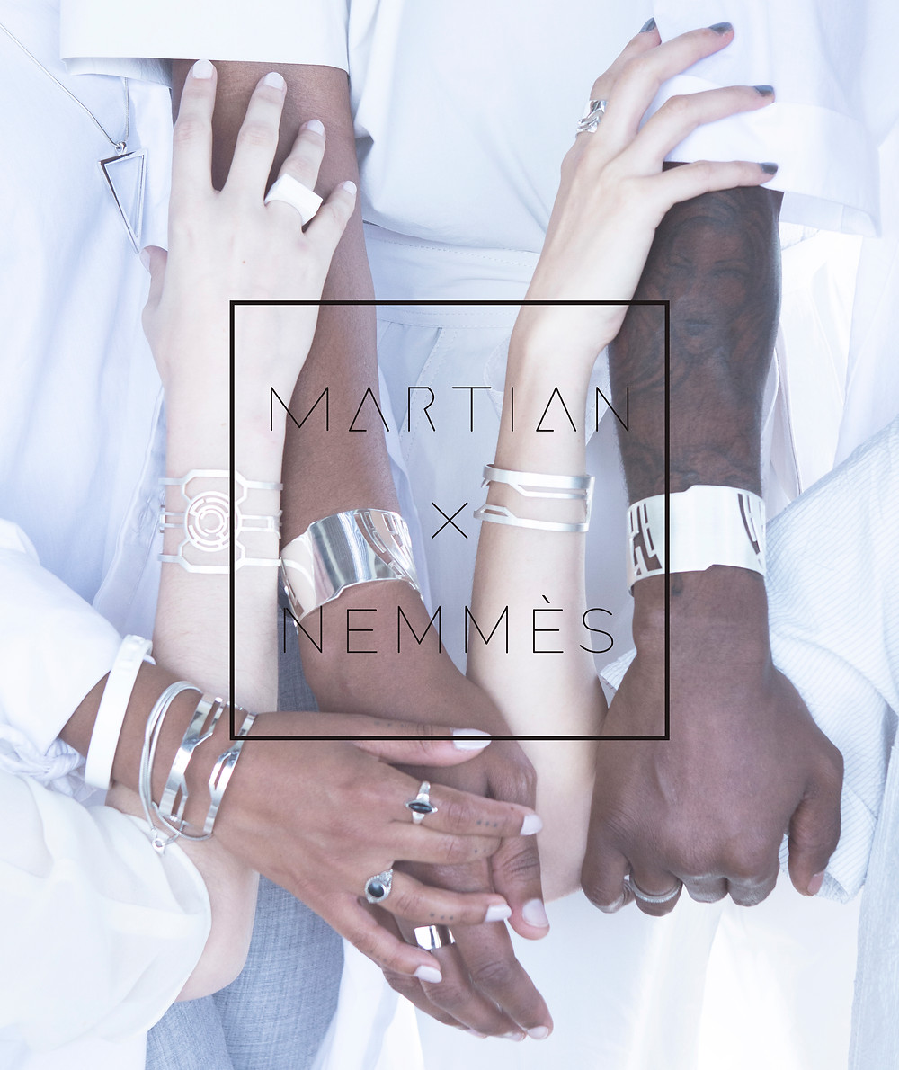 MARTIAN X NEMMES : Jewelry Collection, Offical Photo