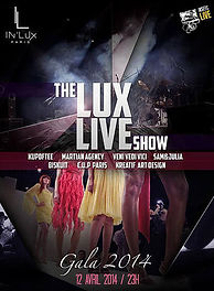 DEFILE MARINE ARNOUL MARTIAN AGENCY INLUX ECOLE DE COMMERCE CREATION AVANT-GARDE THE LUX LIVE SHOW