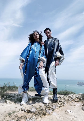 revisited wingsuit marine arnoul french designer made in france futuristic fashion sportswear