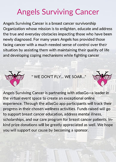 Angels Surviving Cancer  Lets move Campa