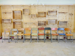 Pallets, Wine Crates and more… Recycled Woodwork Project