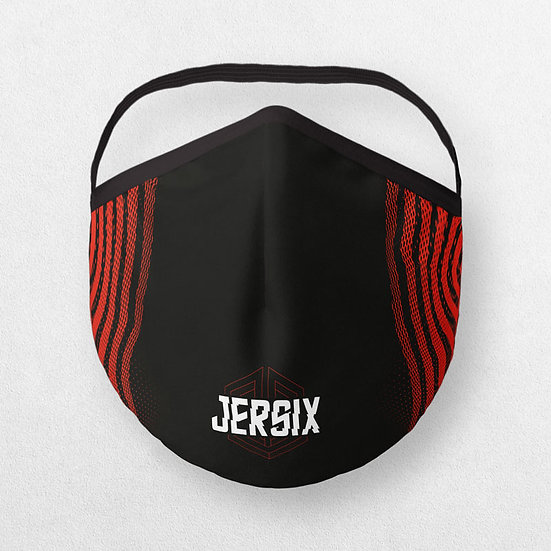 J-MASK ® RED & BLACK