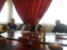 SLU Director of Academic Affairs meets w