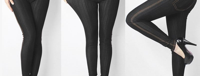 Light, comfy and sexy Skinny fitted leg cut.