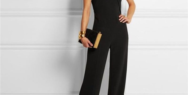 Black Sleeveless Boutique Play suit