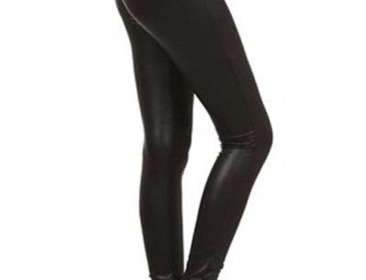 Leather Looking Leggings