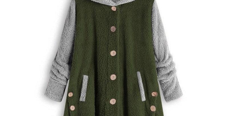 4 x 2 Tone Button up Fleece Jackets