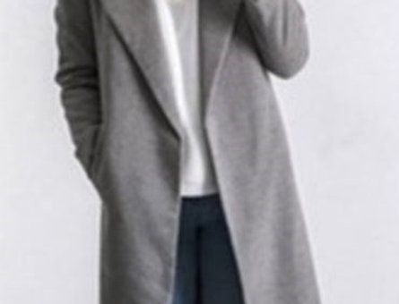 Gorgeous Grey Winter Trench