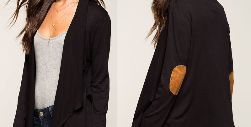 Light Dress Jacket with Elbow Patches