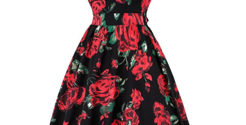 Rockabilly Roses Summer Dress