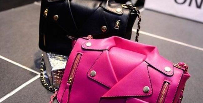 Pink Blazer Jacket Hand Bag