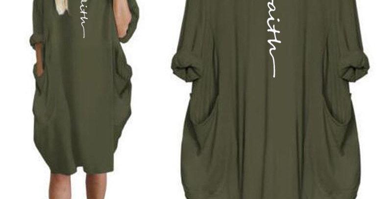 """Snug """"Faith"""" Loose Fit Dress"""