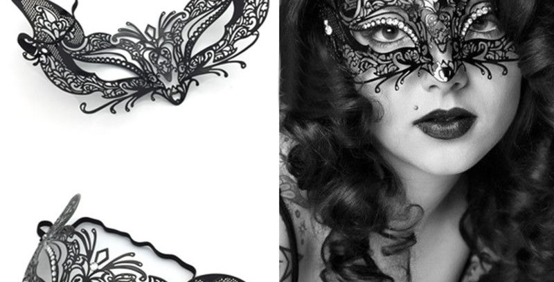 Filigree Masquerade Mask