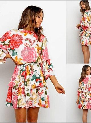 Boho Dress Summer Mini Dresses