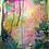 "Thumbnail: Fuschia Mama, 12 x 16"" mixed media on watercolor paper"