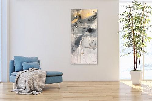 "SOLD 6/16/19, 24 x 36"" acrylic on canvas"
