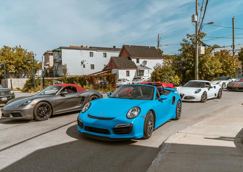 Porsche Tour