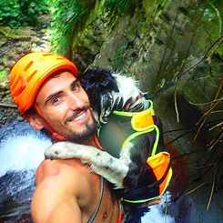 Canyoning Guide  / Guadeloupe / Chien