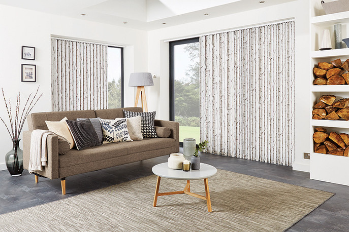 Vertical Blind Decorative Fabric