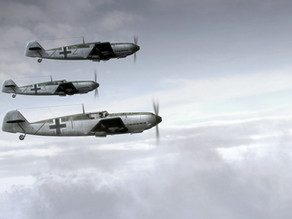 A Story About the End of WW II: The 3 Messerschmitt Fighter Planes