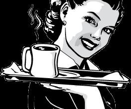 ... and the waitress got a good tip!