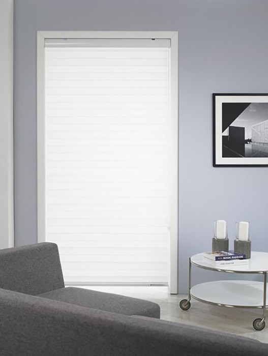 HiLite Shade Light Filtering Fabric Closed