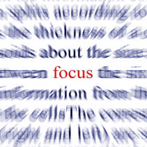 What We Focus On Is What We Get