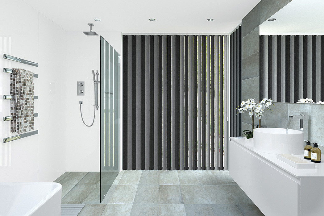 Verticals Blinds Light Filtering Double Fabric