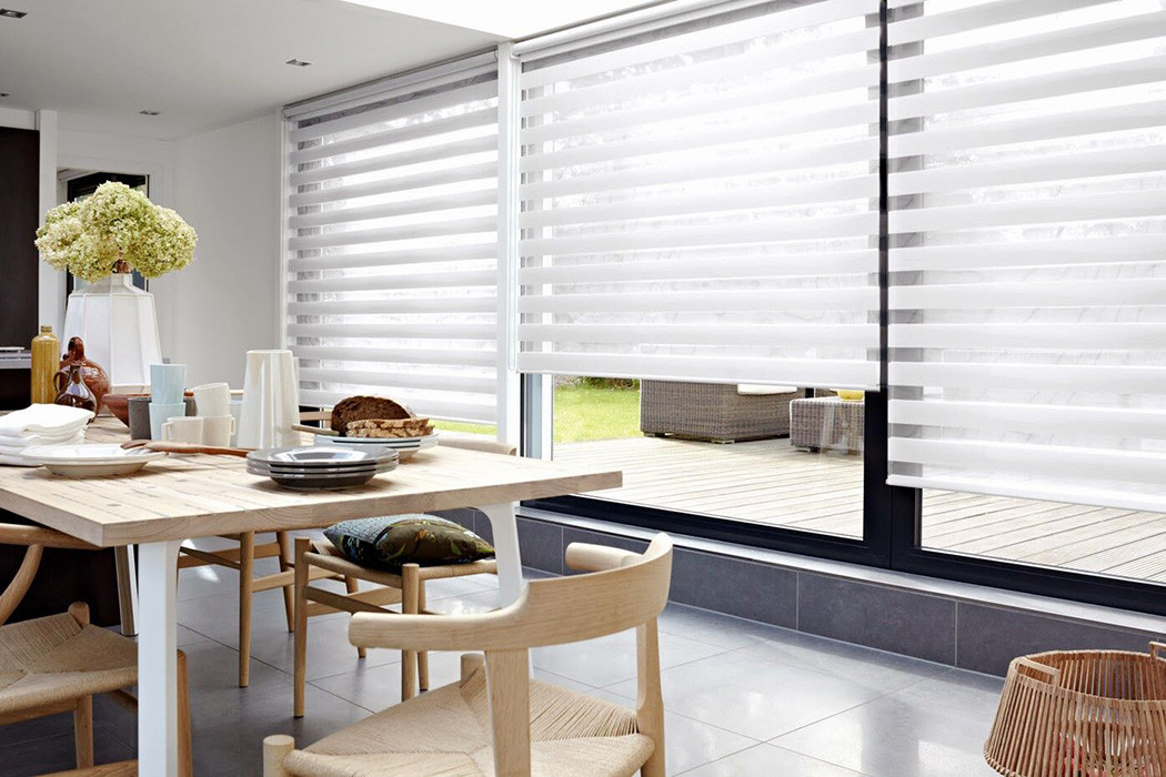 HiLite Shade White Light Filtering Fabric