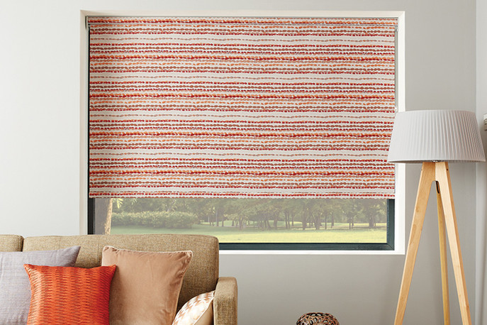 Roller Shade Room Darkening Decorative Fabric