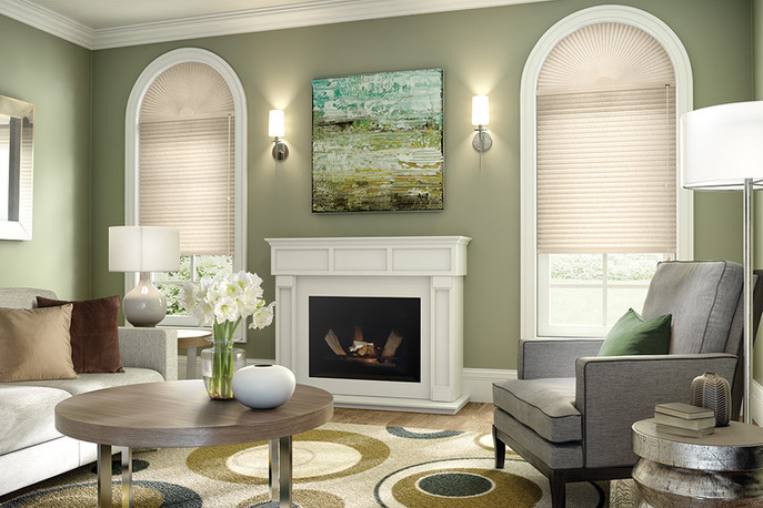 Arched Cellular Shade