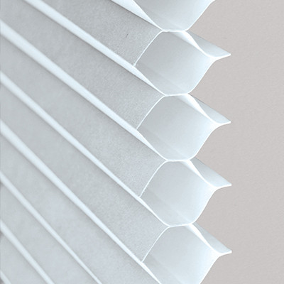 Cellular Shades (white) Close-Up