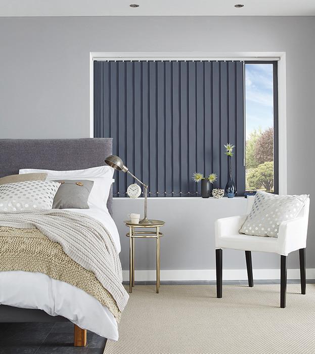 Vertical Blind Room Darkening Fabric
