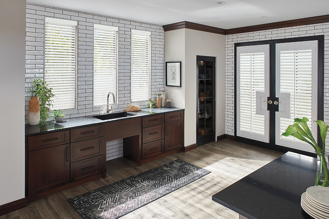 Composite Wood Blind and Wood Shutter r.